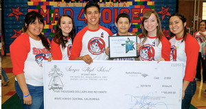 SHS Students Make Moises' Wish Come True
