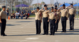 Sanger High NJROTC Place First At Apache Challenge