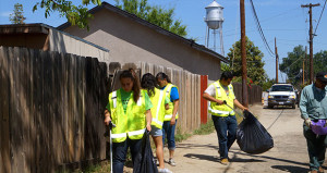 Sanger Earth Day Alley Clean-Up