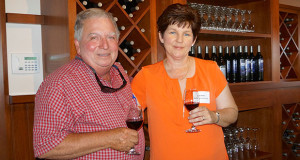 Bob and Debbie Bagdasarian, owners of Kings River Winery. (Photo by Cheryl Senn)
