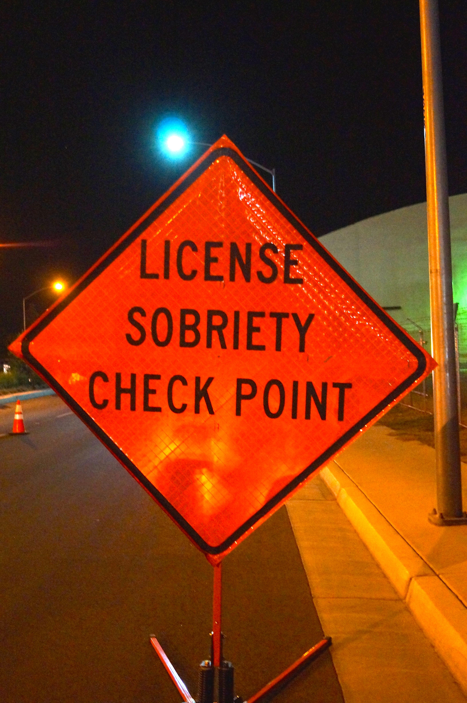 Sanger Sobriety/License Checkpoint - The Sanger Scene