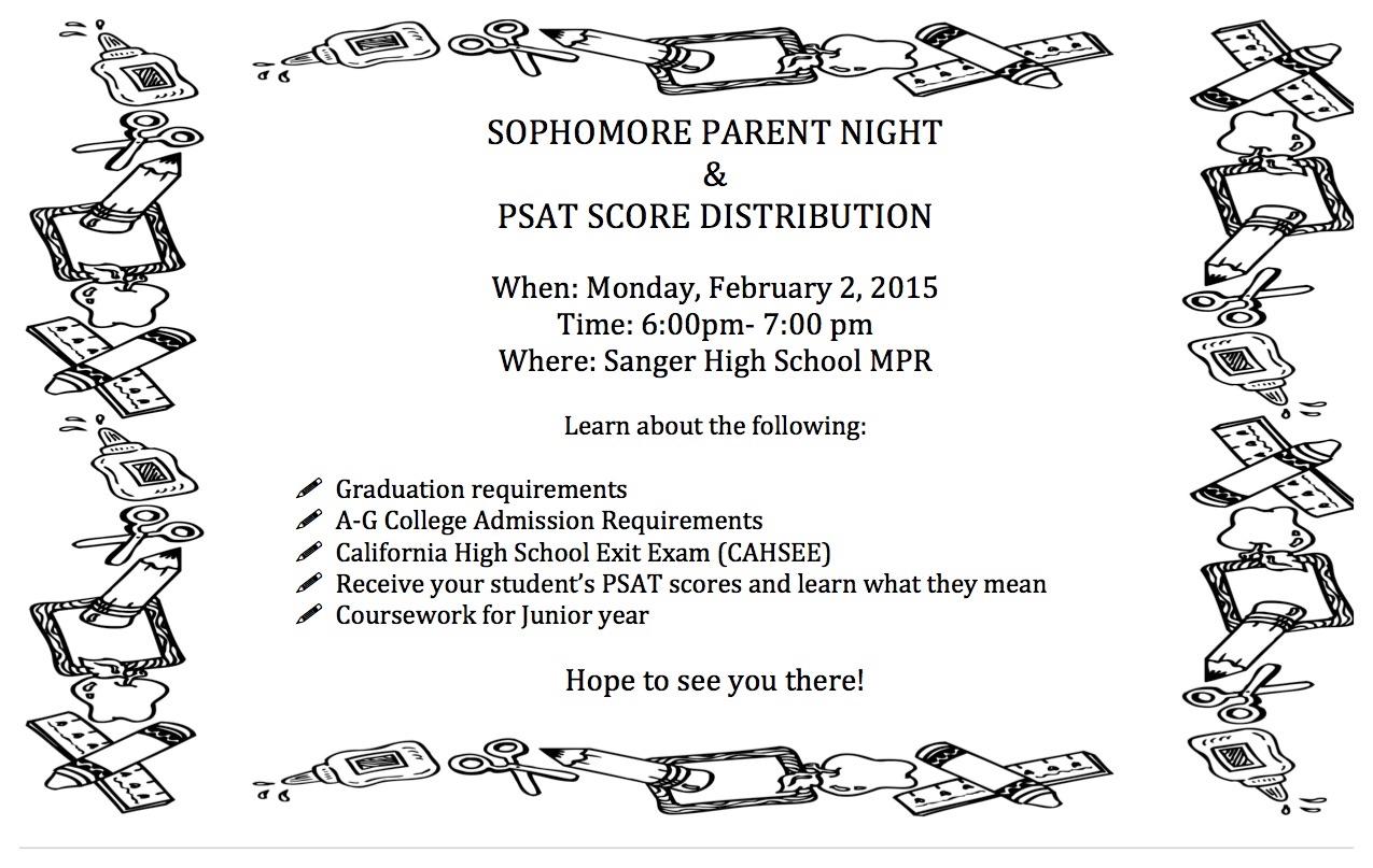PSAT 2015 Scores
