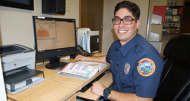 sanger firefighter/emt howlett, in paramedic training program, to, Human body