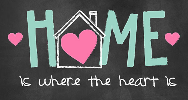home is where the heart is the sanger scene