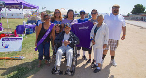 Relay For Life Team which included a survivor and caregiver. (Photo by Cheryl Senn)