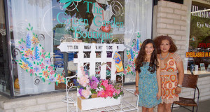 The Green Garden Boutique owner Iliana Jasso, and boutique manager and Jasso's mother Coco Magallon. (Photo by Cheryl Senn)