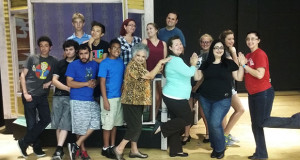 The Cast for the production The Magic Man. (Photo by Benjamin James Ayala/The Sanger Scene)